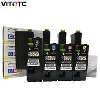 Cartucho de toner compatível para xerox phaser 6020 6022 workcentre 6025 6027 impressora a laser 106r02760 106r02761 106r02762 106r02763
