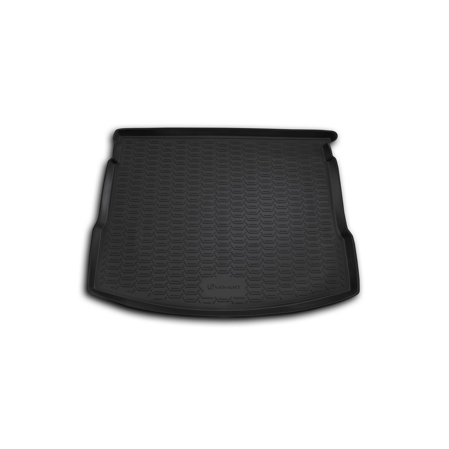 Trunk Mat For NISSAN Qashqai 2007-2014, Cross. (PU, Gray) CARNIS00016g