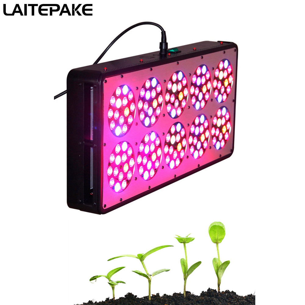 Apollo 10 750W LED Grow Light Full Spectrum With Lens Plants Grow Faster Flower Bigger High Yield  For Plantation Plant Grow Ten