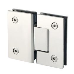 Bmby heavy Duty 180 stopni szklane drzwi szafka gablota prezentacyjna klip szklany zawias do drzwi prysznicowych części zamienne ze stali nierdzewnej Po w Zawiasy drzwiowe od Majsterkowanie na