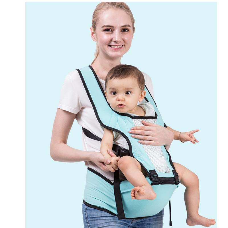 Baby Shoulder Strap Waist Stool Multi-Function Strap Cotton Breathable Body Design Seat Can Be Used For Single Stool 0-36 Months