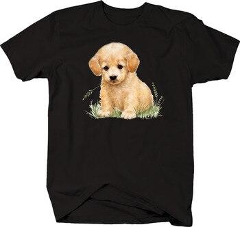 Bonita camiseta con patas de Mascota para amantes de animales con paja en la boca