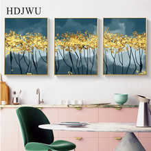 Nordic Abstract Decoration Picture Modern Art Wall Canvas Painting Printing Posters for Living Room  DJ478