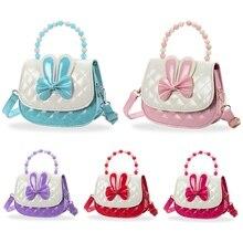 Little Girls Handbag Kids Shoulder Bag Cute Rabbit Ears Cross Body Bag Mini Fashion Handbags for Children Toddler Baby Girl