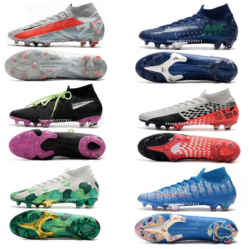 Free Shipping 2020 The New Mens  Training Shoes Soccer Shoes FG Soccer Cleats Outdoor Football Boots Studs For Football Shoes