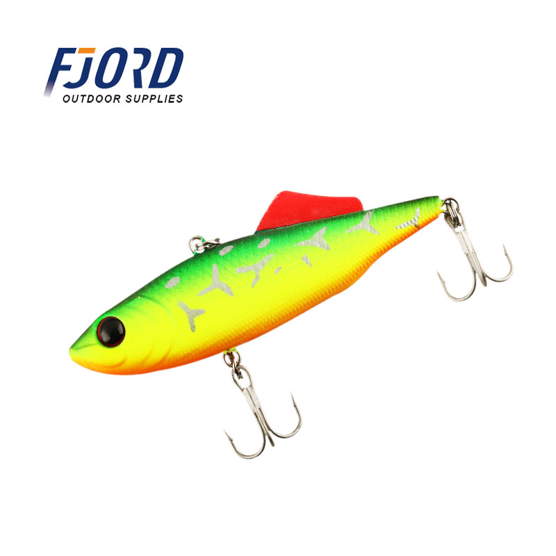 FJORD 10color 65mm 13.5g VIB Artificial Baits Fishing Tackle sinking lures VIBE fishing lures
