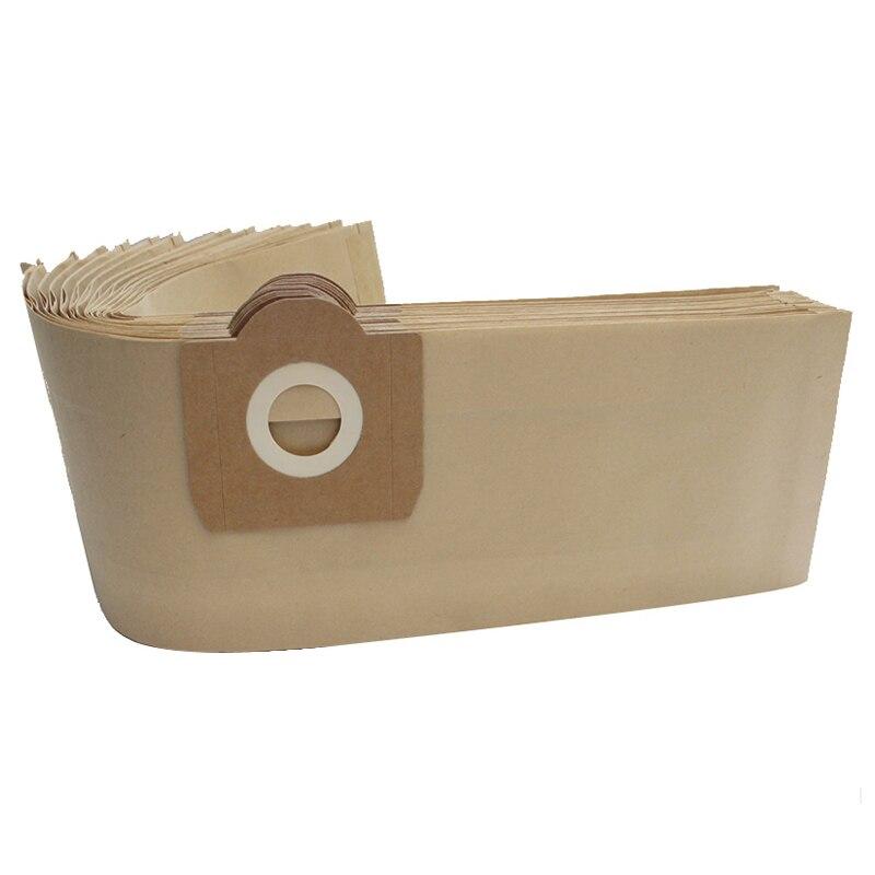 10Pcs Dust Bags For Vacuum Cleaner For Karcher Wd3 Wd3300 Wd3.500P Mv3 Wd3200 Se4001 Se4002 6.959-130 6.904-051 6.904-263