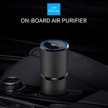 Ambientador de ar do carro usb mudo vento ajustável íons negativos purificador de ar máquina dispositivo purificador de ar do carro difusor de ar prático