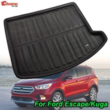 For Ford Escape Kuga 2013 2014 2015 2016 2017 2018 Boot Mat Rear Trunk Liner Cargo Floor Tray Carpet Protector Car Accessories