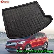 Ford Escape Kuga 2013 2014 2015 2016 2017 2018 çizme Mat arka gövde astarı kargo zemin tepsisi halı koruyucu araba aksesuarları