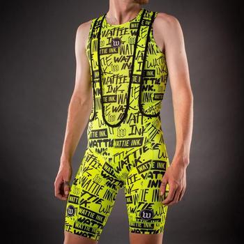 Pantalones amarillo pro equipo ciclismo pantalones cortos culotes cortos de ciclismo hombre...