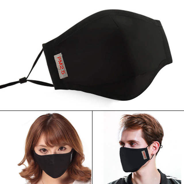 PM2.5 Anti Haze Smog Mouth Dust Mask with Activated Carbon Filter Face Mask High Quality 2020 New