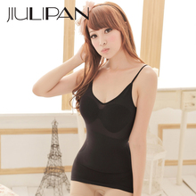 JIULIPAN Thin breathable vest waist abdomen Slimming body sleeveless underwear shaping corset ladies