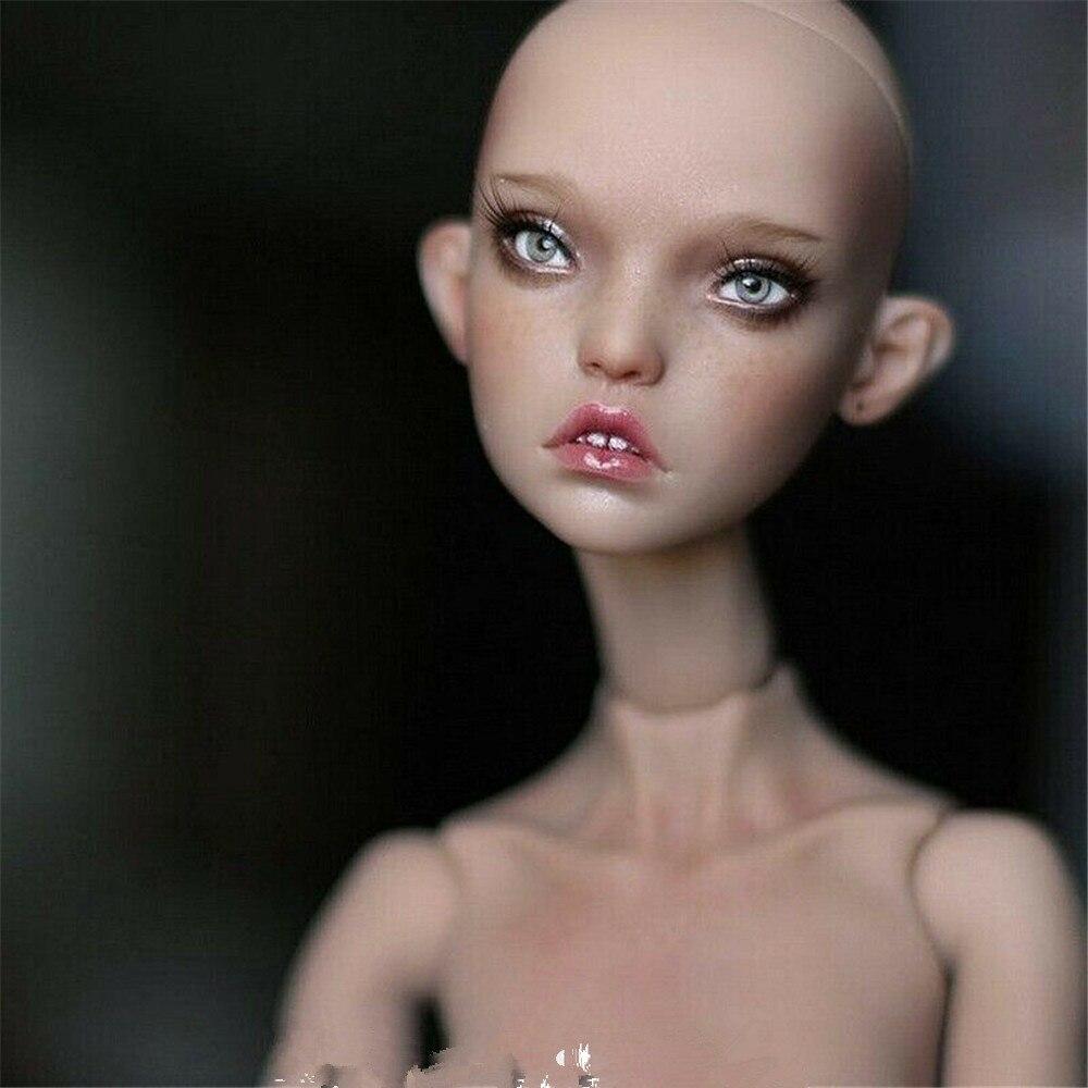 Boneca 1/4 bjd sd kunis para meninas, boneca de bola de resina, boneca fashion com detalhes gratuitos e saltos altos pés planos
