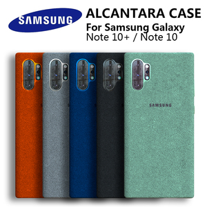 Image 1 - Samsung Note 10 Plus alcantara Case Official Original Genuine Suede Leather Fitted Protector Case SAMSUNG Galaxy Note10 Pro 10+