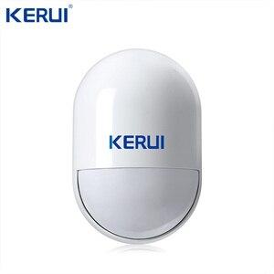 Image 5 - KERUI W20 Wifi Gsm APP sterowanie Rfid ekran dotykowy Alarm bezprzewodowy GSM SMS intruz System alarmowy PIR ruch