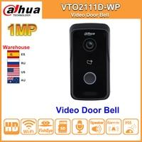 Original Dahua Intercom Video Door Phone WIFI VTO2111D WP DC 12V POE WIFI IP Metal Villa P2P Villa Outdoor Station