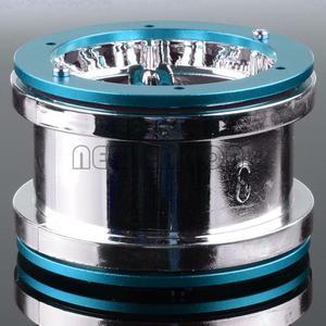 Image 5 - ENRON jantes à billes RC 1:10, 4 pièces, pour voiture à chenilles, pour voiture D90 CC01 HSP Axial SCX10 SCX10 II YETI Traxxas TRX4, 2.2 pouces, nouveauté