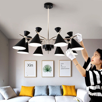 Modern LED chandelier living room bedroom LED ceiling lamp corridor hotel ceiling chandelier factory direct sales modern round crystal fish line single head ceiling lamp club shop corridor entrance hall door chandelier for bedroom livingroom