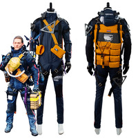 Death Cosplay Stranding Sam Norman Reedus Costume Suit Adult Men Male Halloween Carnival costumes