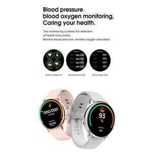 "Image 3 - עמיד למים IP68 Smartwatch + רצועה/סט חכם שעון אק""ג דם חמצן לחץ אלחוטי טעינה עבור iPhone סמסונג Huawei שעון"
