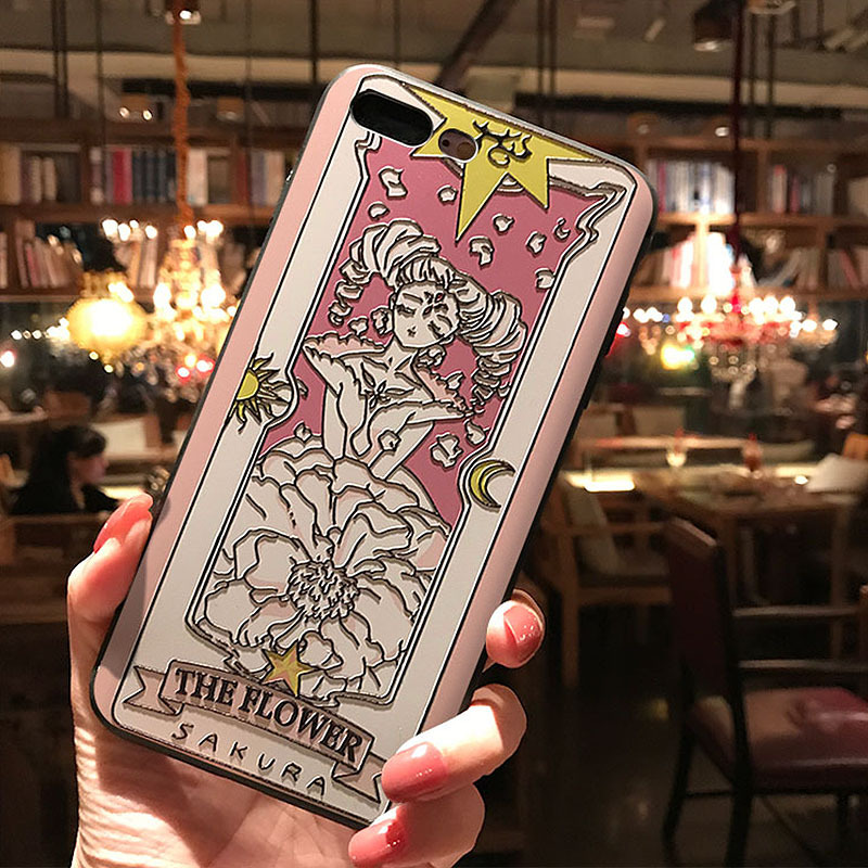 Card Captor Sakura Phone Case for <font><b>Samsung</b></font> Galaxy <font><b>S10e</b></font> S8 S9 S10 S20 Ultra Plus Note 8 9 10 Plus Soft TPU Back Covers image