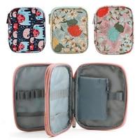 Durable portátil ganchos para tejer Crochet bolso agujas de almacenamiento bolsa impermeable