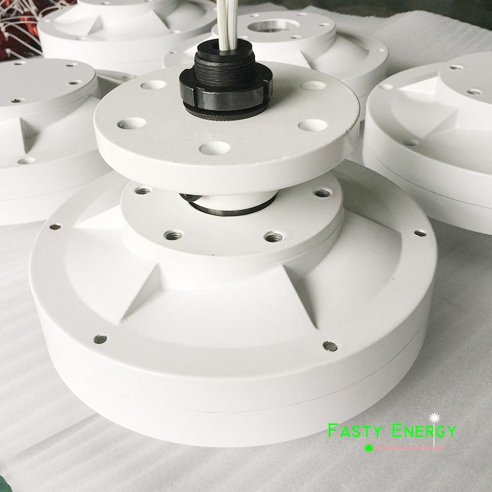 VERTICAL axis 600w 12v/24v 48v brushless ac rare earth permanent magnet alternator/ alternative energy generator