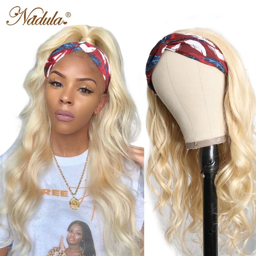 Nadula Headband Wig  Body Wave Honey Blonde  Headband Wig  Natural Wave Pre Plucked  1