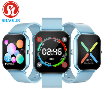 SHAOLIN Smart Watch Men Women 1.4 Inch Fitness Tracker Full Touch Screen Heart Rate Blood Pressure Monitor for iOS Android