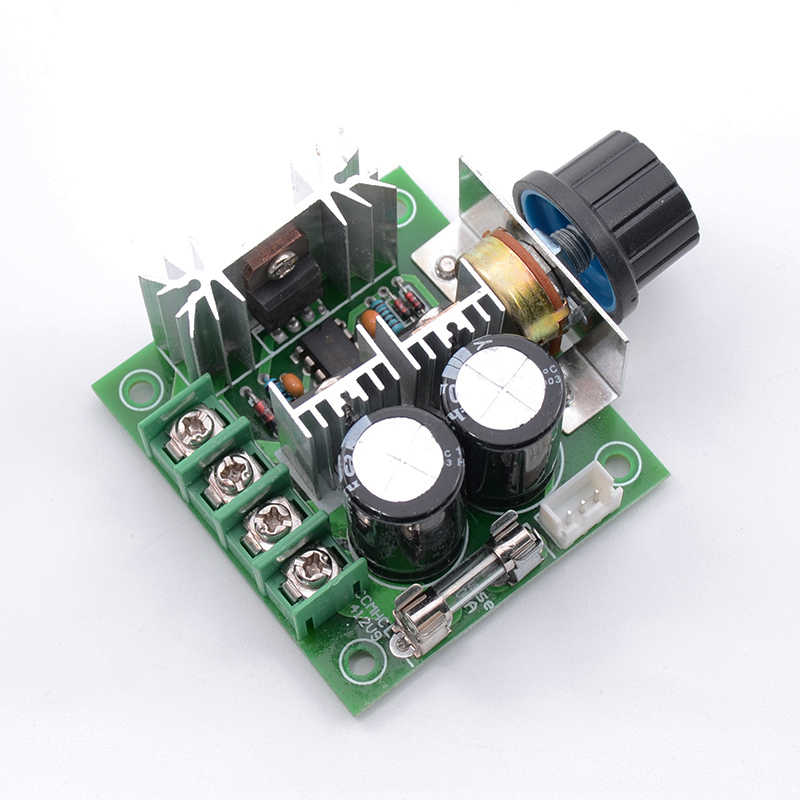 12 V-40 V 10A DC Motor Gouverneur Pumpe PWM Continuously Variable Transmission Speed Control Schalter