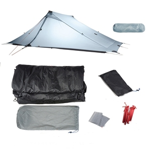 Image 4 - 3F UL Gear Lanshan 2 Pro Rodless Tent 20D Silicone Ultralight Waterproof 3 Season 2 Person Tents For Outdoor Camping Hiking