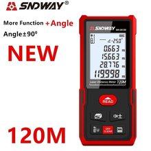 SNDWAY télémètre laser distance mètre 120m 100M 70M roulette électronique règle numérique trena laser ruban à mesurer télémètre
