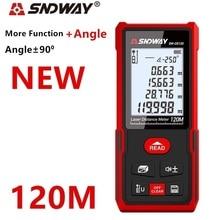 Sndway الليزر rangefinder مقياس مسافات 40 متر 50 متر 70 متر 100 متر 120 متر الإلكترونية الروليت الرقمية ترينا الليزر شريط القياس المدى مكتشف