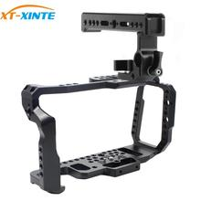XT-XINTE BMPCC-قفص كاميرا 4 K/6 K/4 K/6 K/BMPCC ، بمقبض ، قفص أفلام DSLR ، صنع أفلام الفيديو