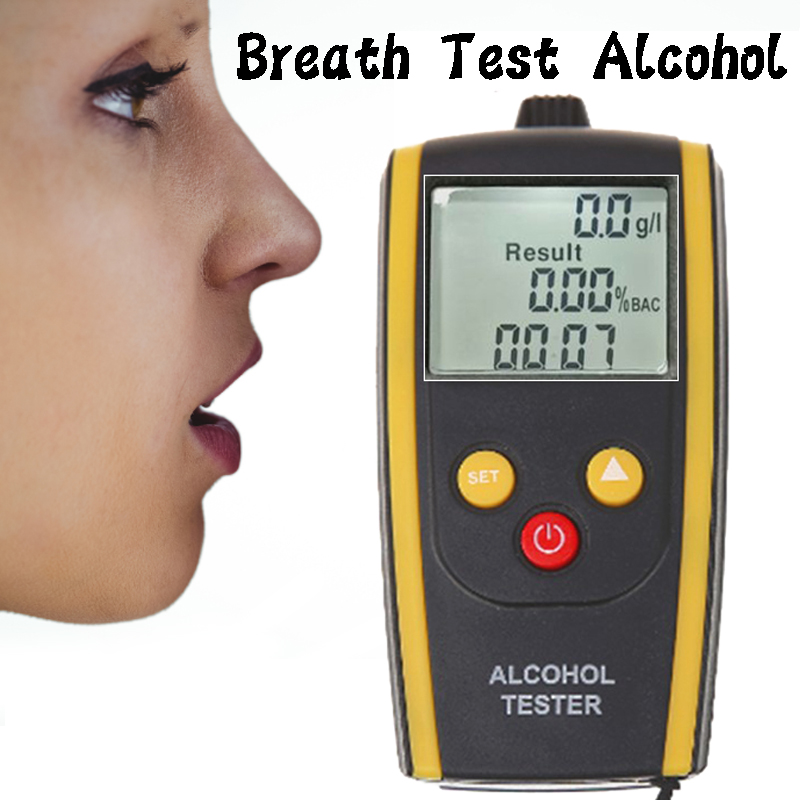 HT-611  Digital Alcohol Tester Breath Alcohol Tester Breathalyzer Breathalyser Alcohol Breath Tester Dfdf