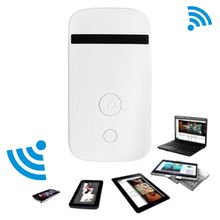 Rechargeable Unlocked ZTE MF90 4G Mobile wifi 3G LTE FDD 800/1800/2600 MHz WIFI WLAN Hotspot Wireless Router