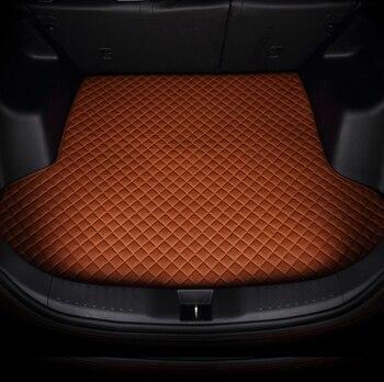 All Custom Car trunk mats for Maserati GranTurismo Quattroporte Levante Ghibli etc car-styling all weather carpet floor