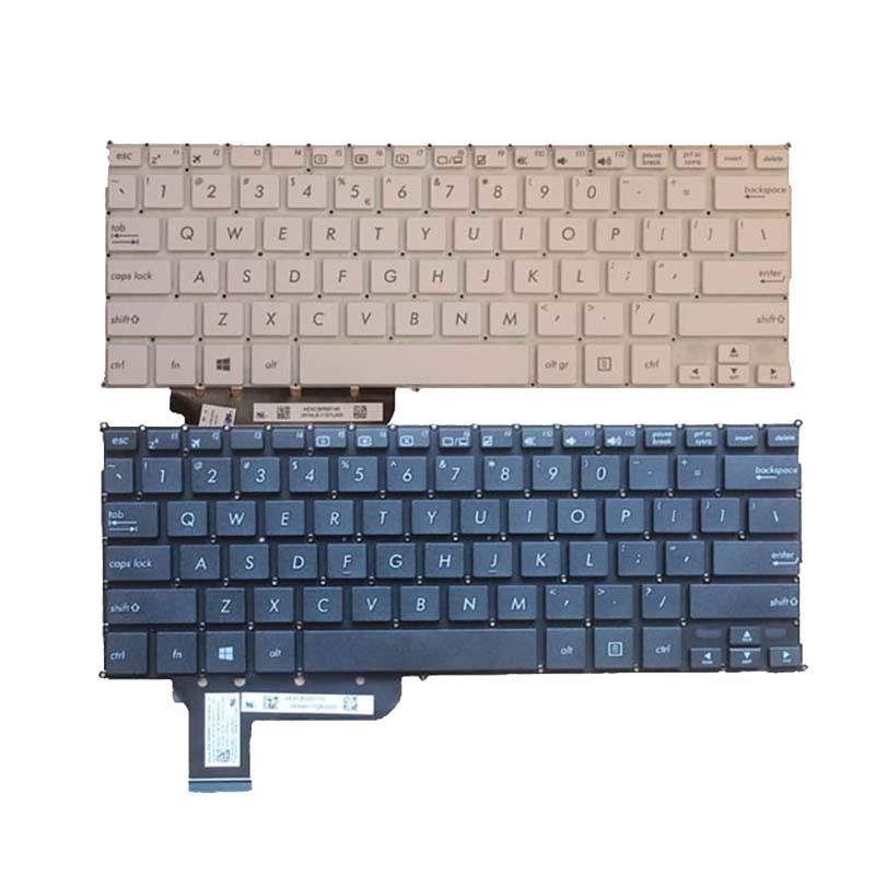 US Keyboard For ASUS X201 X201E S200 S200E X202e Q200 Q200E White/Black English Laptop Keyboard