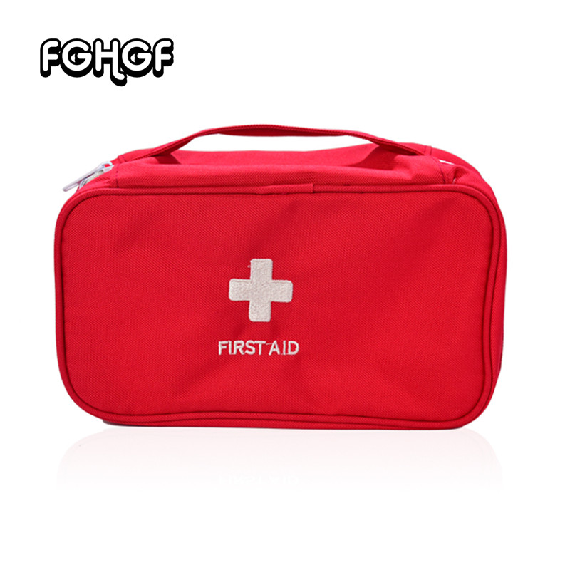 Portable Camping First Aid Kit Emergency Large Medical Bag Waterproof Car Kits Bag Outdoor Travel Survival Kit Empty Bag