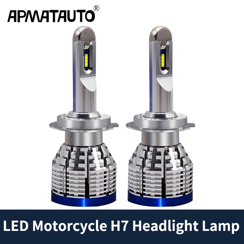 Motorcycle H7 Hi Beam <font><b>LED</b></font> Bulb Head Light For BMW R1200GS R1200R <font><b>R1200RT</b></font> R1200RS F800R R1300R S1000RR S1000XR K1300GT K1300S HP4 image