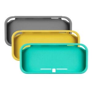 Image 2 - Für Nintend Schalter Lite Silikon Schutz fall Für nintend schalter mini shell Abdeckung mit screen protector film
