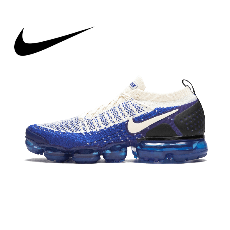 Original Authentic NIKE AIR VAPORMAX FLYKNIT 2 Men's Running Shoes Sports Shoes Breathable Comfort Trend Classic 942942