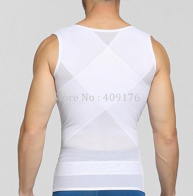 Compression Belly Trimmer Men Posture Corrector Tops Double Control Tummy Trimmer Shaper Control Abdomen Corset 1