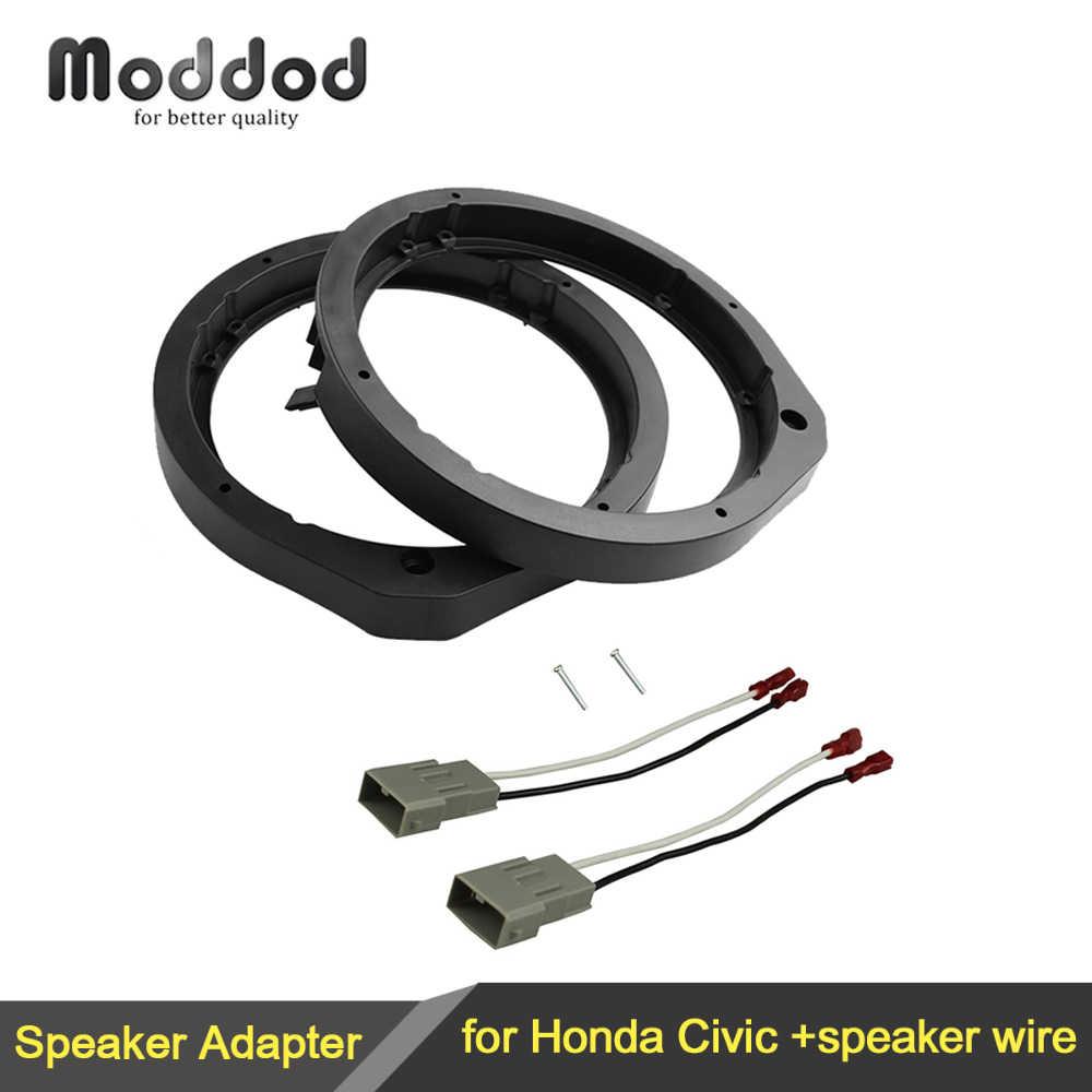 Helix b5x altavoces 130mm /& adaptador anillos adecuado para Honda CRX puertas frontales