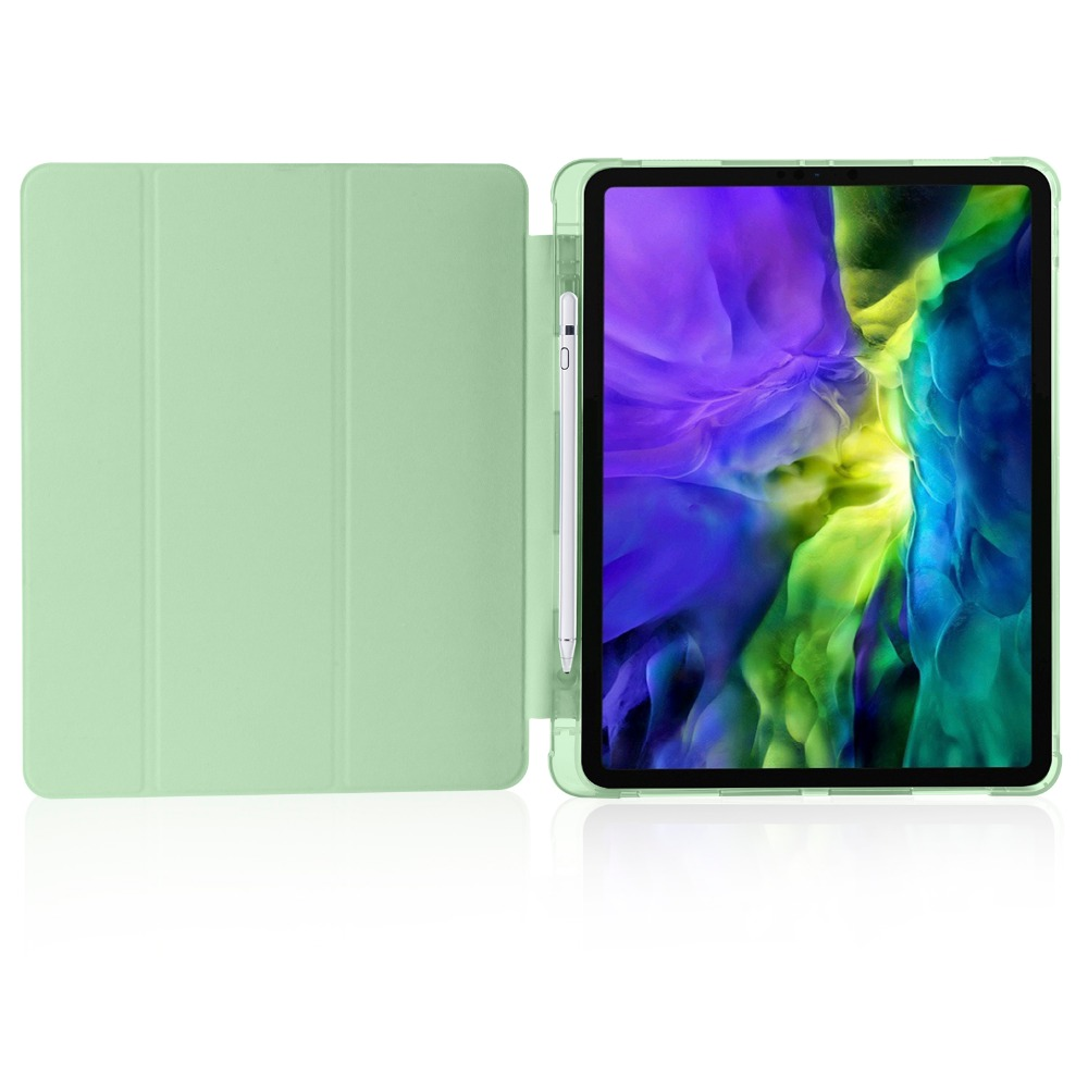 9 Pencil Pro 2018 Soft For iPad Shell 12 TPU 2020 with iPad Cover Apple for Holder Case
