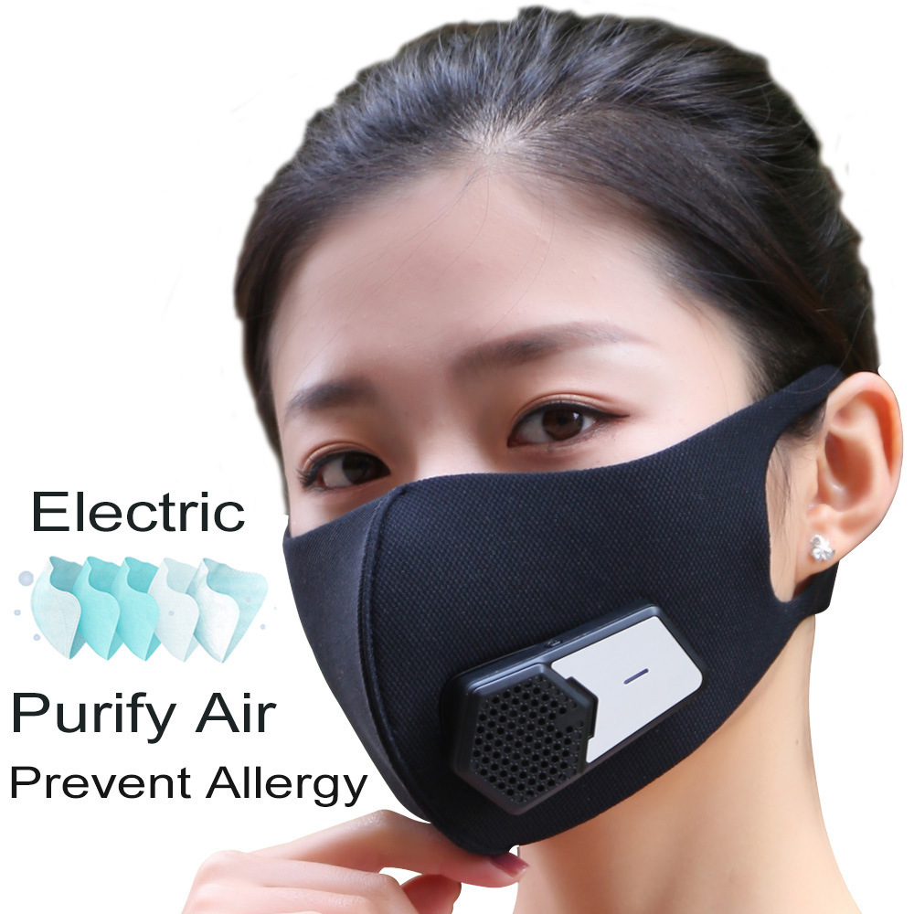 5/10/20PCS PM2.5 Filter Cotton 5 Layers Electric mask replacement filter Anti Dust Haze Mask Activate Carbon Filter Adults Mask
