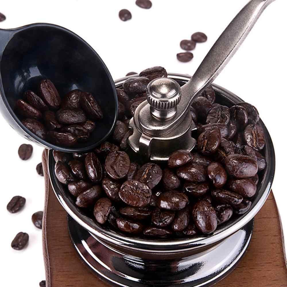 レトロステンレスセラミック手動コーヒー豆グラインダーナットミル手研削ヴィンテージミルツール