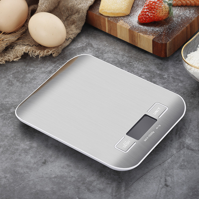 Digital Kitchen Scale With LCD Display 4