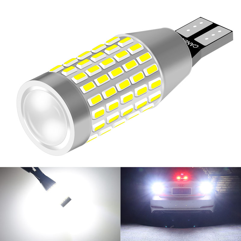 1pcs 1200LM W16W T15 LED Bulb Canbus Car Backup Reverse Light For <font><b>Mercedes</b></font> Benz AMG CLA W203 W211 W204 W210 W124 W212 W202 W205 image